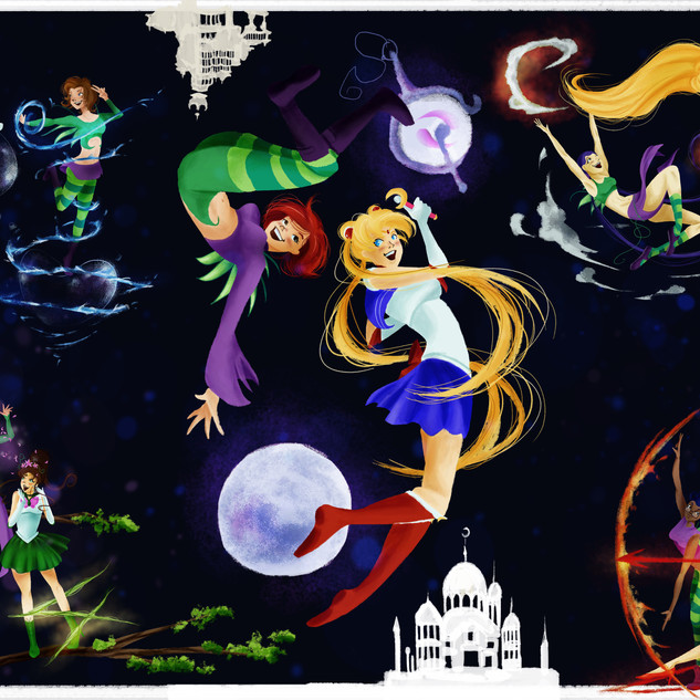 Sailor Moon & Witch