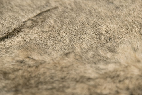 Gina Faux Fur Brown Rug