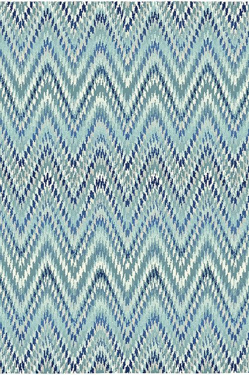 Batik Chevron Rug