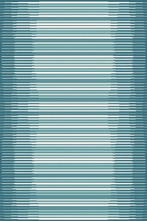 Monte Carlo Lines Rug