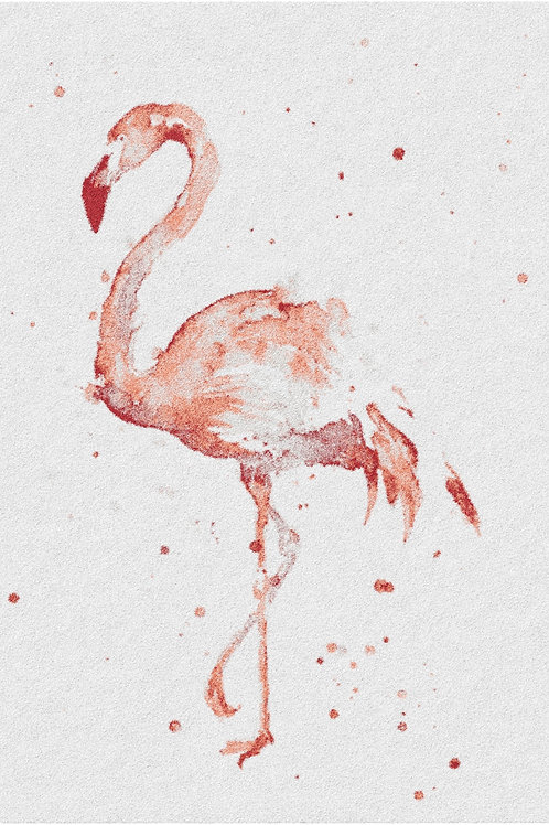 Paris Flamingo Rug