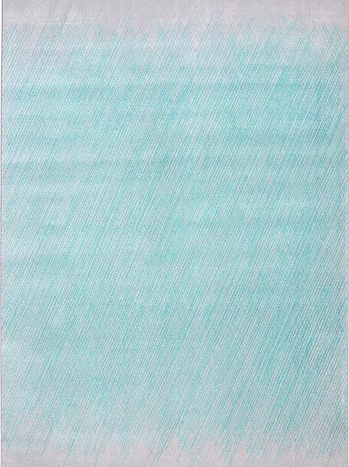 Erode Blue Pink Rug