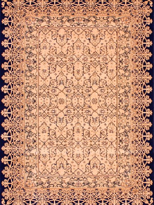 Royal Keshan Beige Black Rug