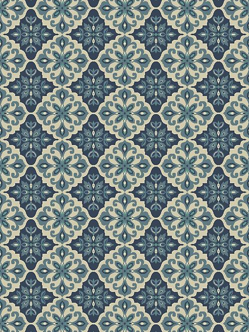 Mosaic Pattern Rug