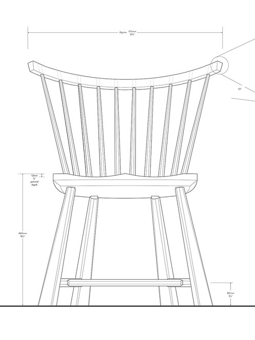 PLANS: Spindle Back Chair