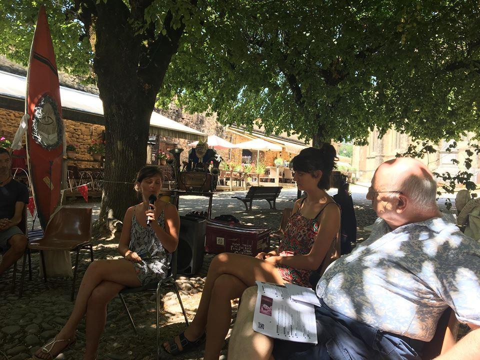 Interview de Guillemette Cremese et Solène Krystkowiak par Émile Lansman. 27/07/2018