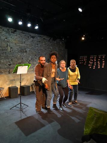 Première résidence au Théâtre des Marronniers terminée !