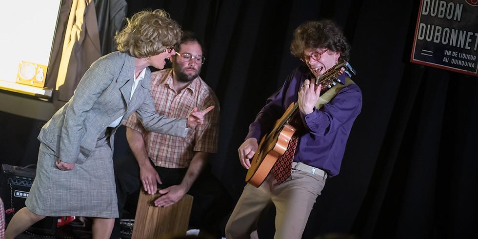 #conférence humour musical- Ginette et Raymond