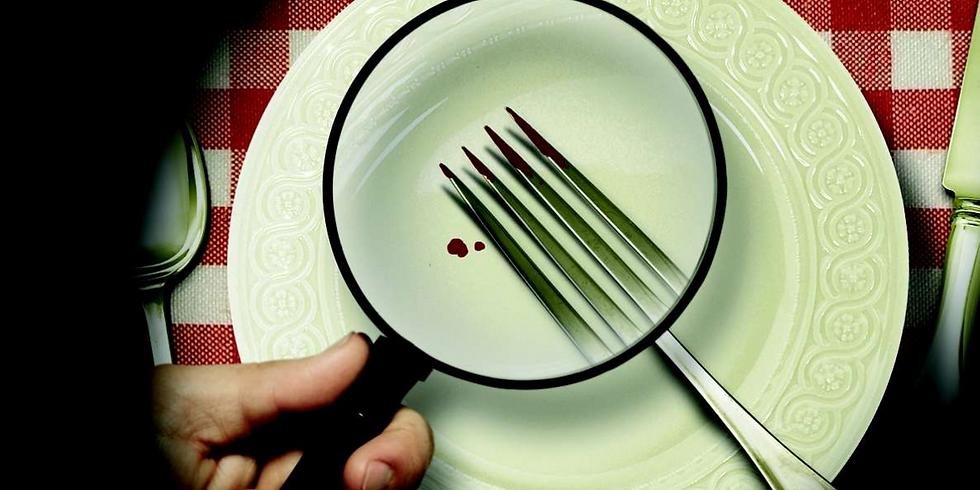 """#diner spectacle """"Un meurtre et l'addition!"""""""