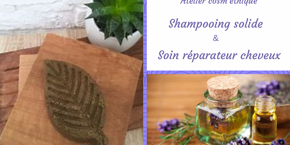 #atelier cosmétique DIY, le shampoing solide et soin réparateur Fleur de Dosha