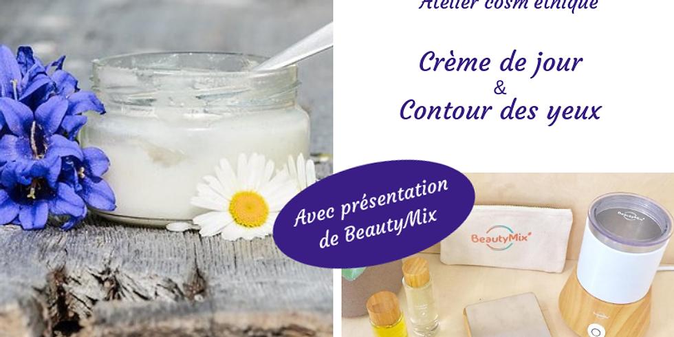 #atelier cosmétique DIY, crème de jour