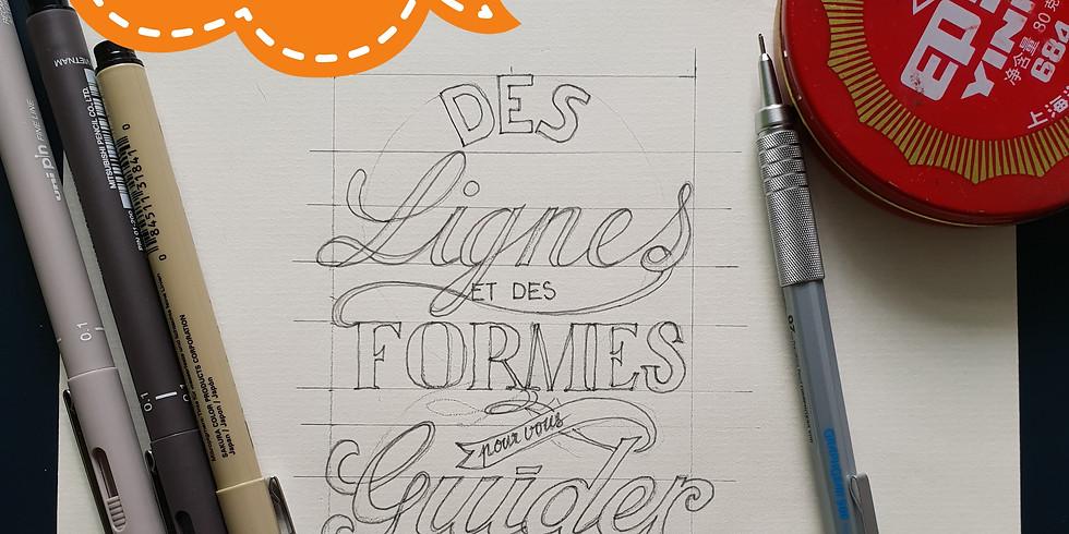#atelier lettering calligraphie