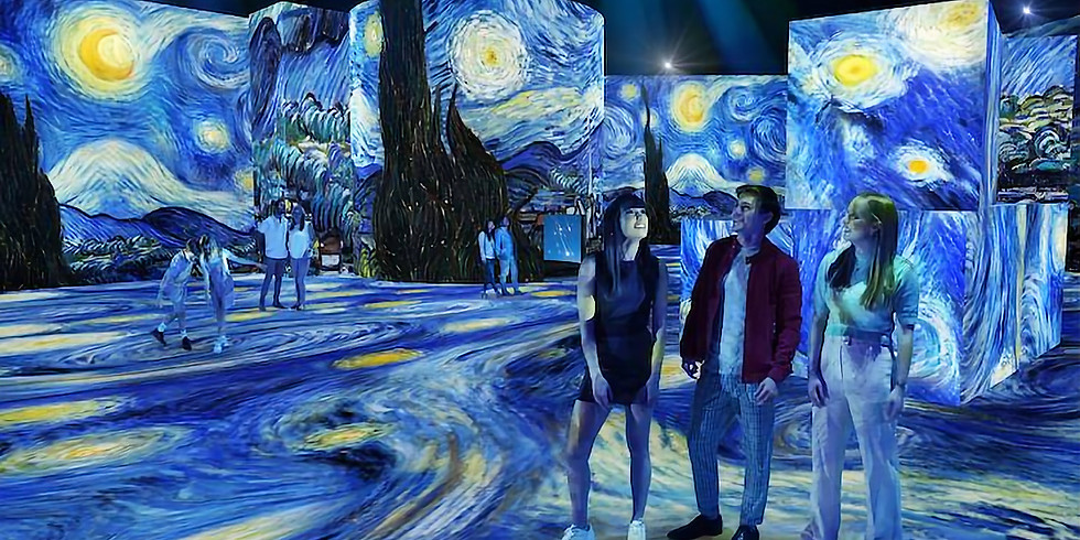 THE LUME Van Gogh - including a night at Crown Towers