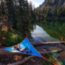 Tree tent tende alberi camping hammock amache amaca