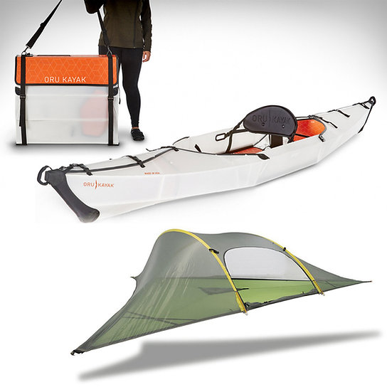 Combo Tentsile Stingray + Oru Kayak Beach