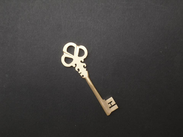 Bronze Silver Key