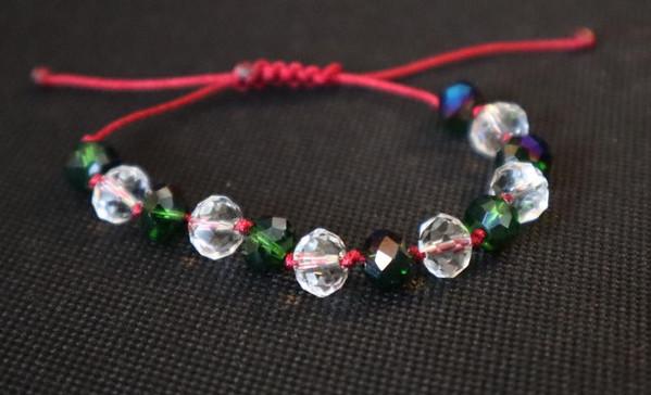 Crystal Peacock bracelet
