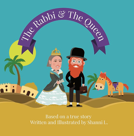 The Rabbi & The Queen Board Book