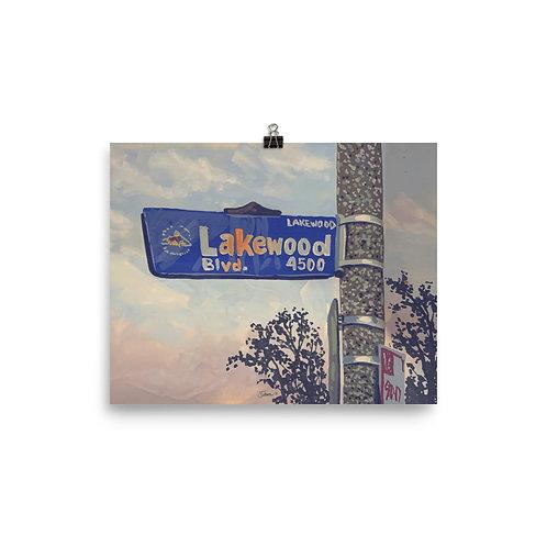 "Lakewood Print, 8""x10"""