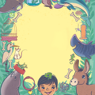 Cover from 'Perfect Pet', digital