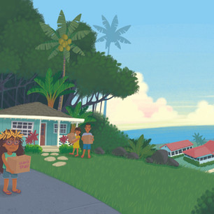 Spread from 'Our Leilani', digital