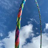 "My new 35"" 11/16 polypro hoop 😍. #hoopl"