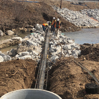 Villa Heights Sanitary Sewer Replacement & Bank Stabilization
