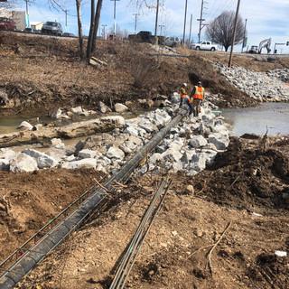Villa Heights Sanitary Sewer & Bank Stabilization
