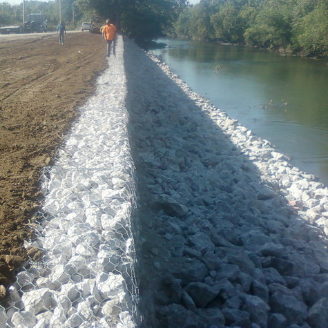 Spring River Bank Stabilization