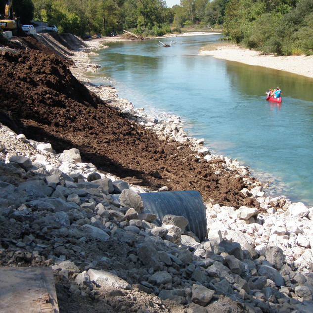 Elk River Bank Stabilization