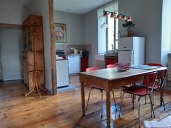 cuisine salle à manger gîte