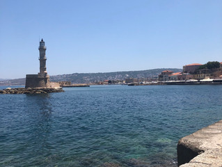 Chania the harbour!