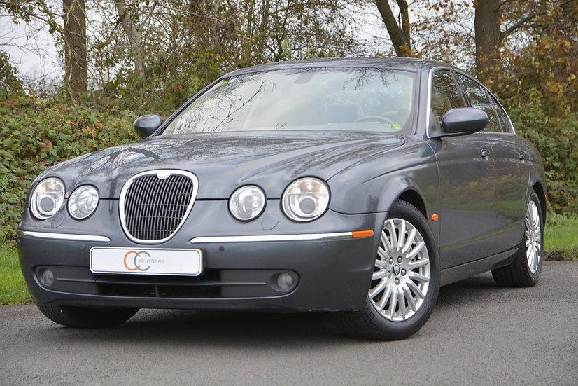 Jaguar S-Type 2.7 Diesel Executive 2004 Grijs metallic