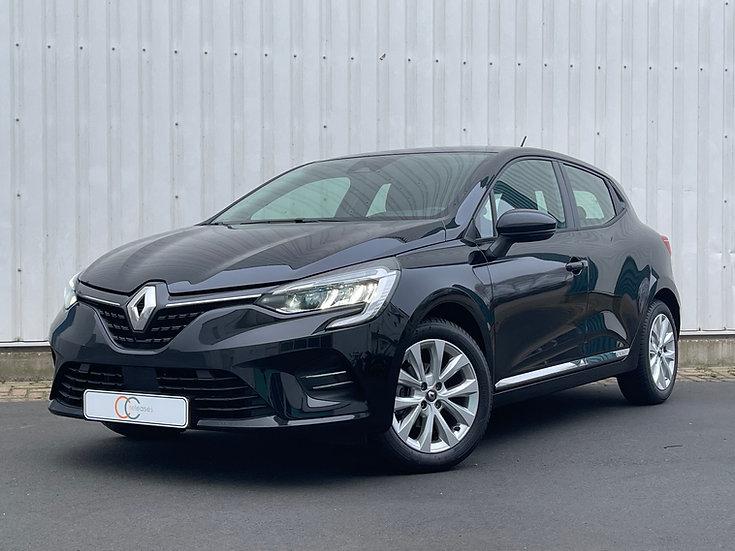 Renault Clio 5-deurs Zwart 2021 Benzine