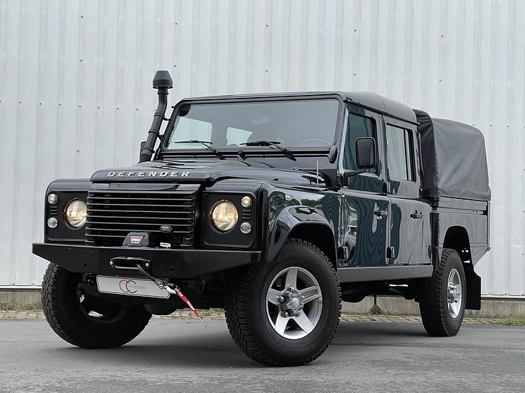 Land Rover Defender 130 HCPU Crew Cab Diesel - Zwart - 2015