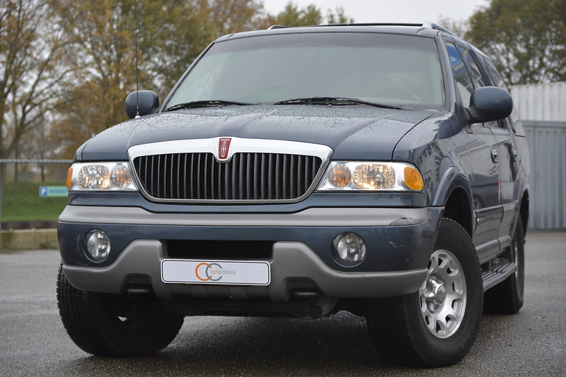 Lincoln Navigator 5.4 liter V8 1999 Blauw metallic