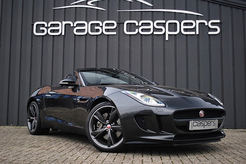 Jaguar F-Type 3.0 V6 Cabriolet Benzine - Grijs - 2013