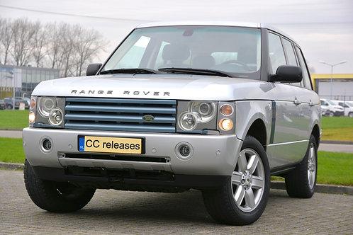Yougtimer-lease Range Rover 4.4V8 benzine 2003 Grijs metallic