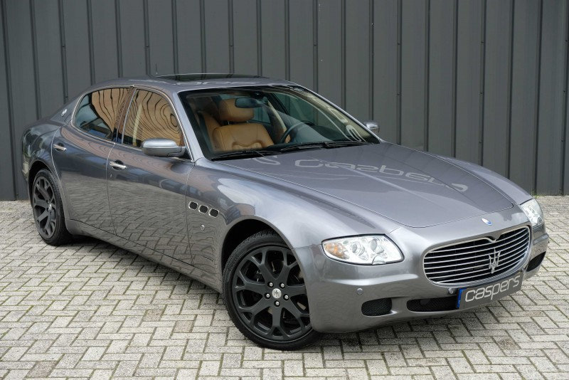 Maserati Quattroporte-4.2 v8 duo select