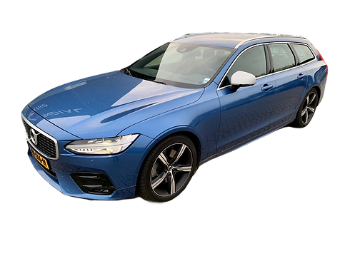 Volvo V90 T4 station Metallic Blauw 2019