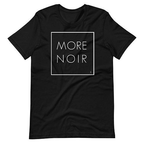 More Black/ Noir/ More Noir shirt/ Pro Black/ Black Tshirt