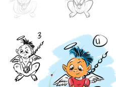 How to Illustrate a Kids book for Kids!