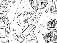 New Coloring page for October!