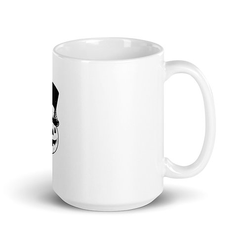 Pumpkin Coffee Mug, Pumpkin Top hat, Coffee Mug Halloween Coffee mug, Halloween