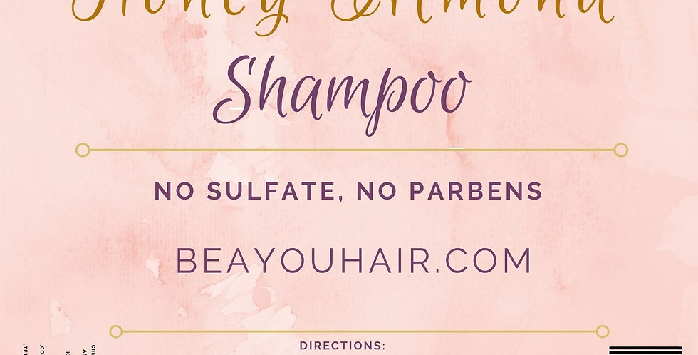 Honey Almond Moisturizing Shampoo