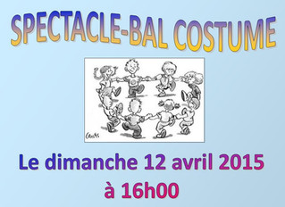 Spectacle-bal costumé