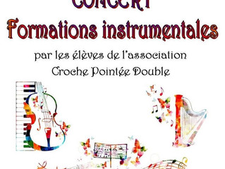 Concert de formations instrumentales