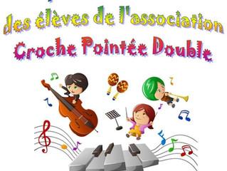 Spectacle musical des élèves