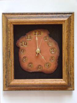 #168-Clock in frame