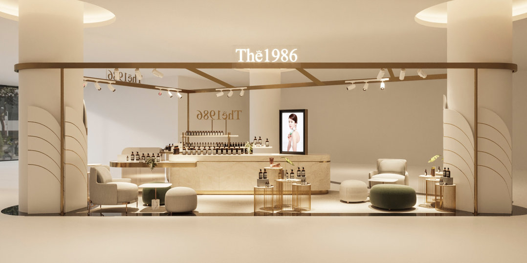 The 1986 Pop-up store
